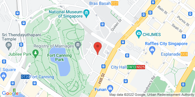 Map showing Armenian Street Park