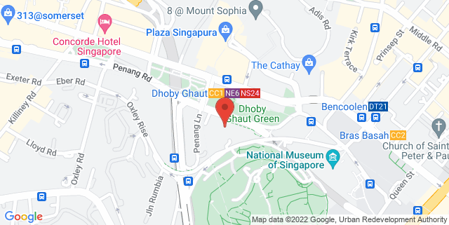 Map showing Park Mall  (Dhoby Ghaut)