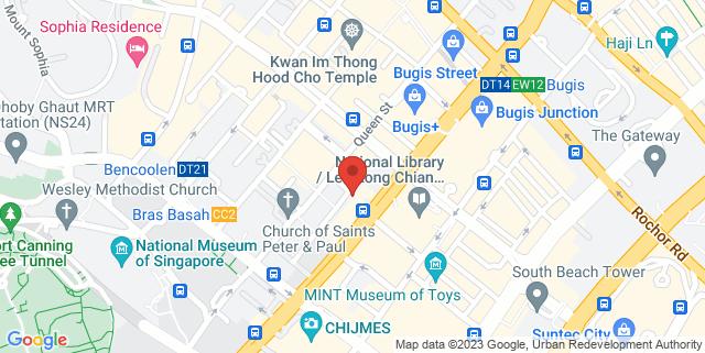 Map showing Nanyang Academy of Fine Arts, Campus V
