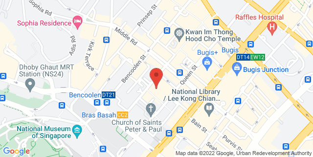 Map showing Bolly Dancing Studio