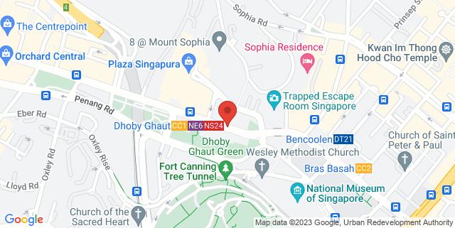 Map showing Temasek Shophouse