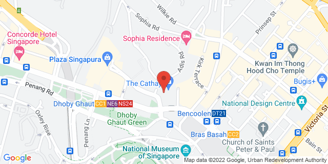 Map showing Naiise @ The Cathay