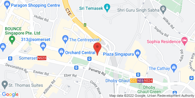 Map showing Concorde Hotel