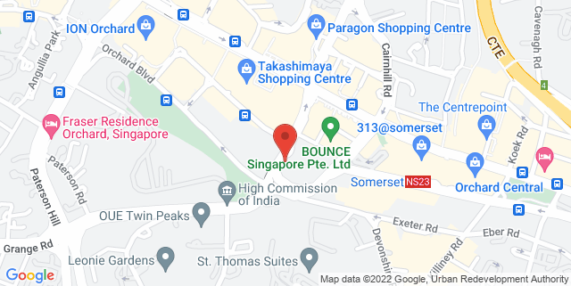 Map showing *SCAPE The Warehouse