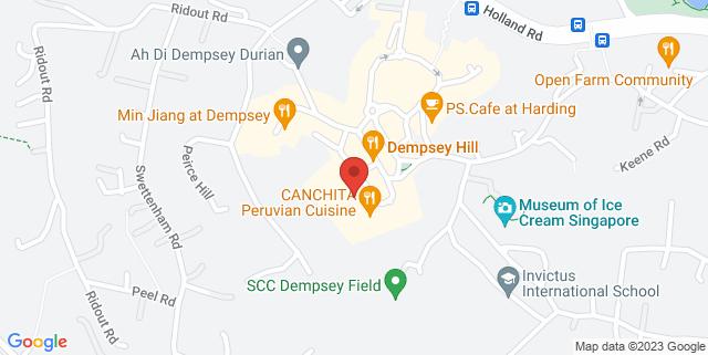 Map showing Jam At Siri House