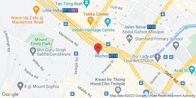 Map showing Overjoyed Retail Store