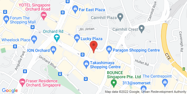Map showing Tong Building