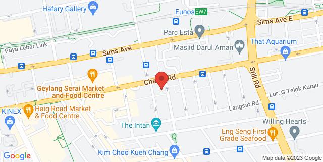 Map showing Wis at Changi