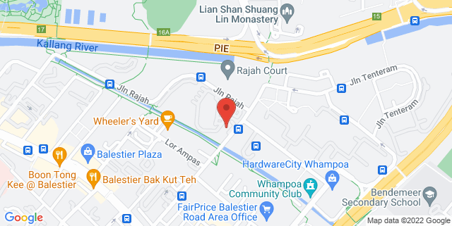 Map showing NKF Centre