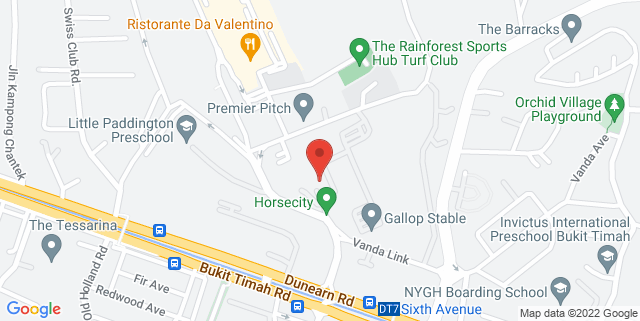 Map showing Pegasus Boutique Hotel