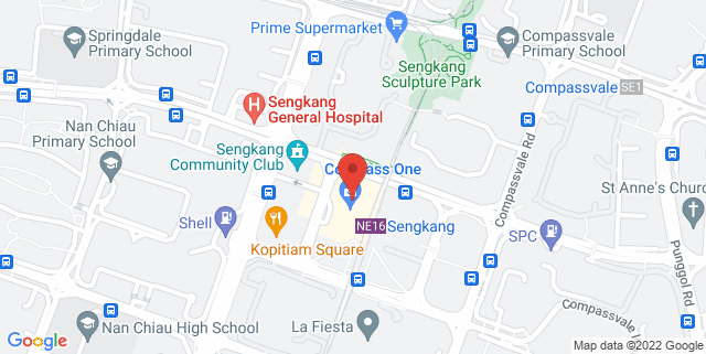 Map showing Compass One Mall