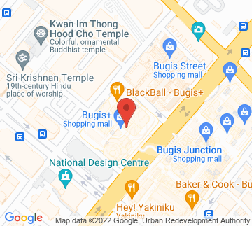 Map showing Hood Bar & Cafe
