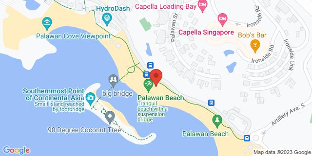 Map showing Palawan Green