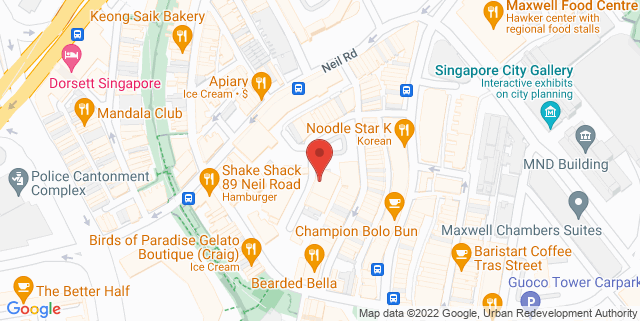 Map showing Kiosk