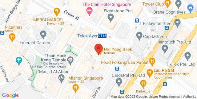 Map showing Sum Yi Tai