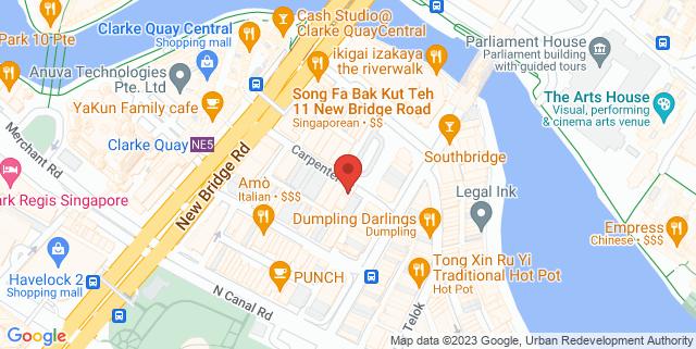 Map showing Jayleen Hotel