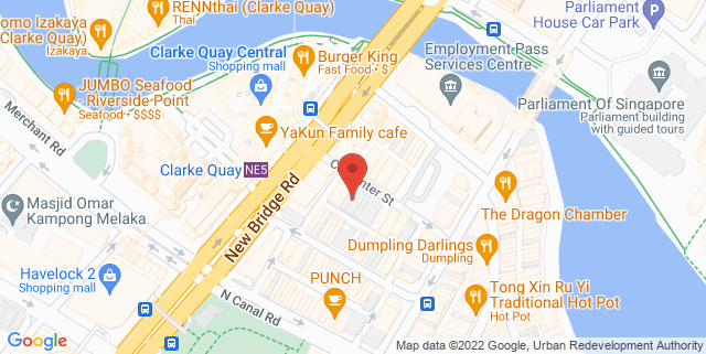 Map showing SGInnovate