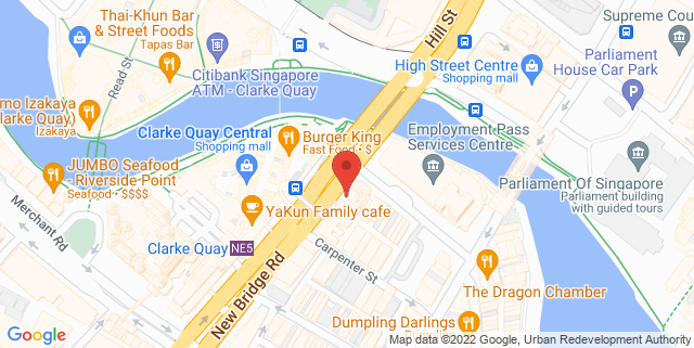 Map showing Wanna Cuppa Café and Bistro