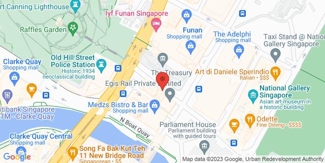 Map showing Funan Showsuite