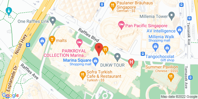 Map showing PSB Academy City Campus