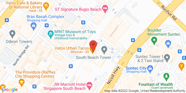 Map showing The Armoury Craft Beer Bar