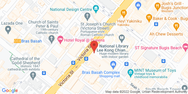 Map showing Success Training Centre