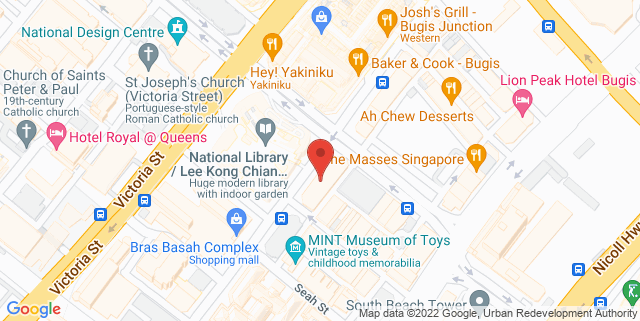Map showing City Book Room