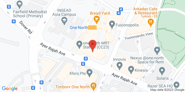 Map showing Future Ready Academy