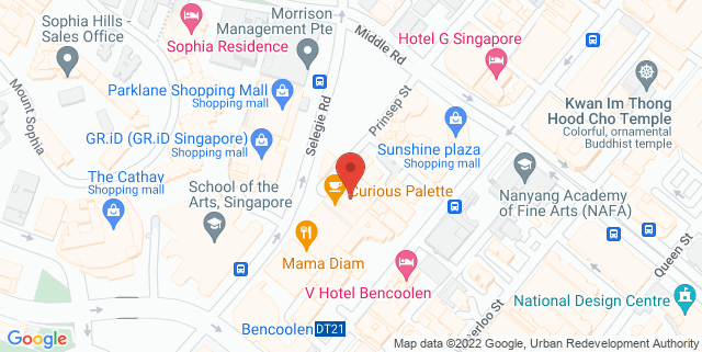 Map showing Red House Seafood