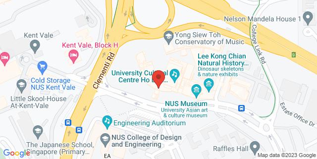 Map showing University Cultural Centre