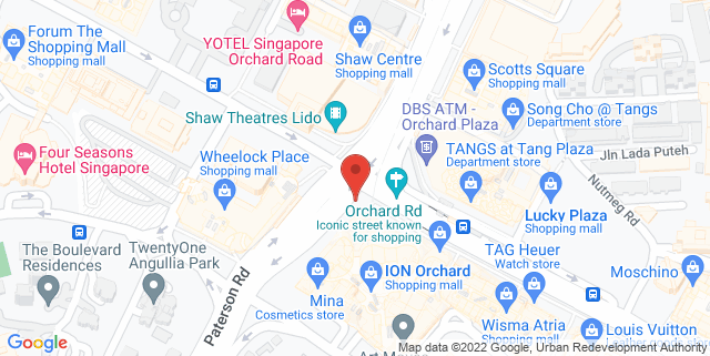 Map showing Quiet Cosy Cafe
