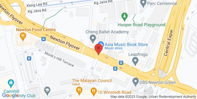 Map showing Miaja Gallery