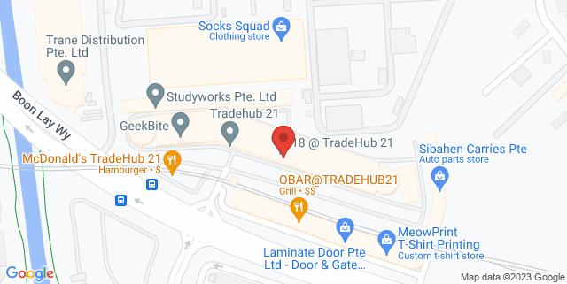 Map showing Laminate Door Pte Ltd