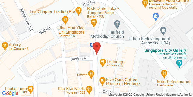 Map showing Tippling Club