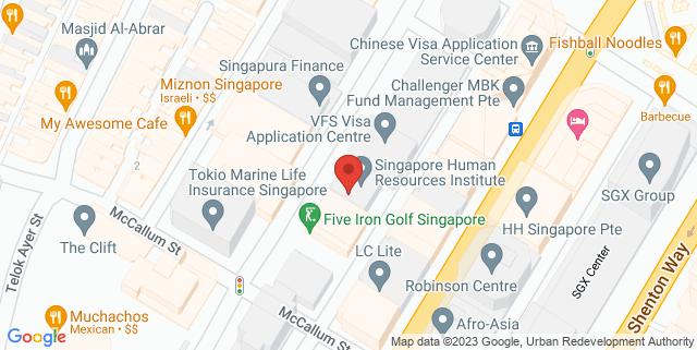 Map showing Hong Bao Media