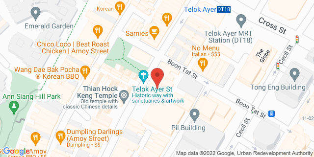 Map showing BodyTree Academy