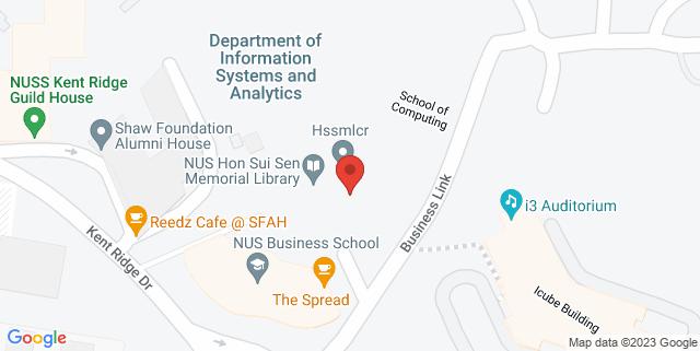 Map showing Hon Sui Sen Memorial Library