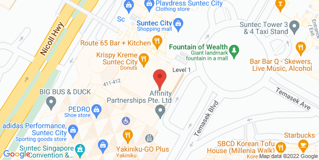 Map showing PayPal