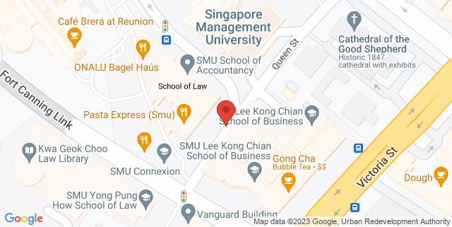 Map showing SMU-School of Accountancy