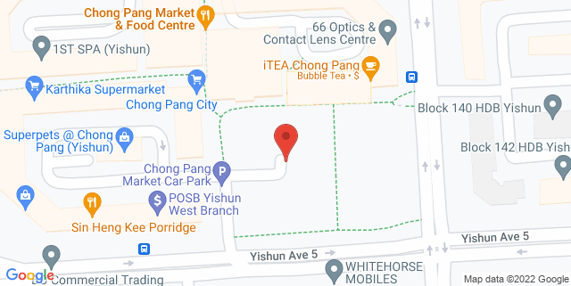 Map showing I Can Read