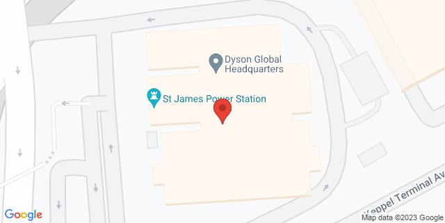 Map showing Millian Singapore
