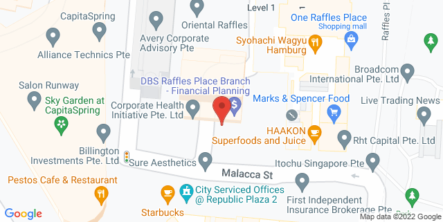 Map showing Cialfo Pte Ltd