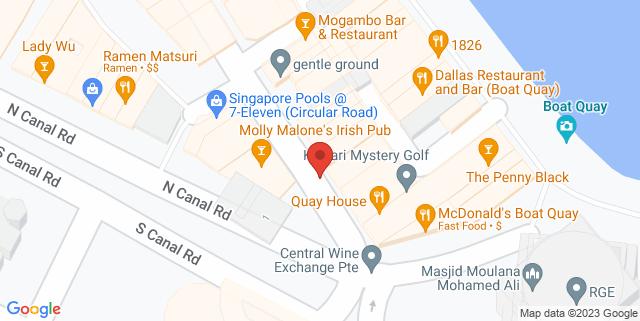 Map showing Yoga Mala