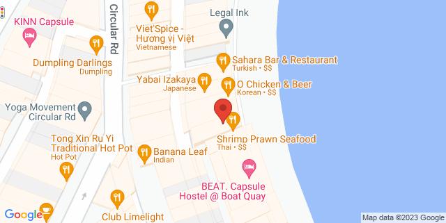 Map showing Cat Cafe Neko No Niwa
