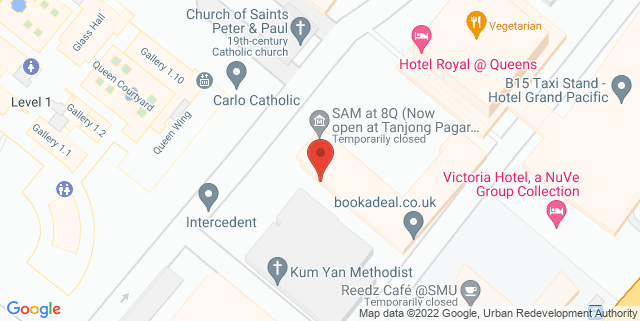 Map showing Love Pal Cafe