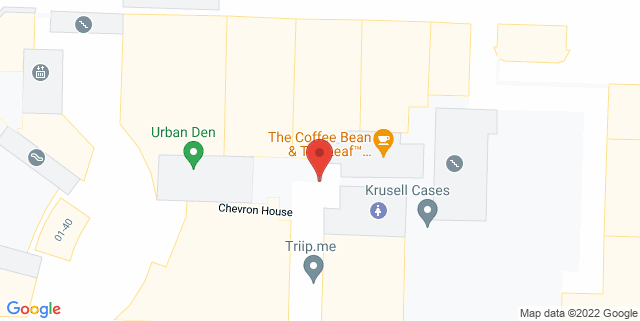 Map showing Change Alley Mall