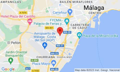 Cómo llegar a MALAGUEÑA DE CARRETILLAS, S.L.