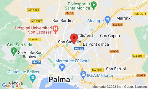 Cómo llegar a GRUCAMA-Gruas y Carretillas de Mallorca, S.L.
