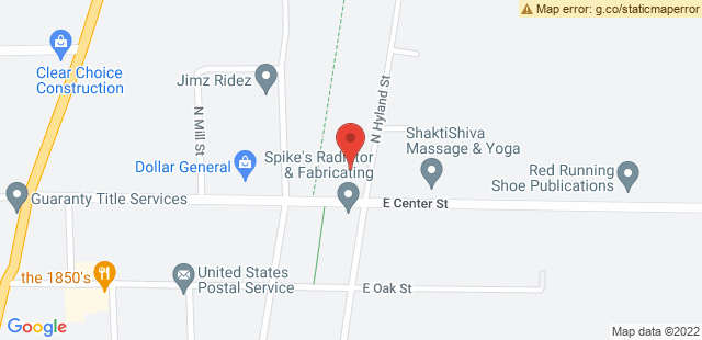 Map of 491 E Center St., Juneau, WI 53039