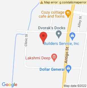 Map of W10649+Cole+Street+Elcho%2C+WI+54428